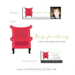Custom Logo Design with Avatar, Business Card and Online Banner by Camille Chung