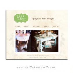 Professional 5 Page Website with Custom Logo Design by Camille Chung